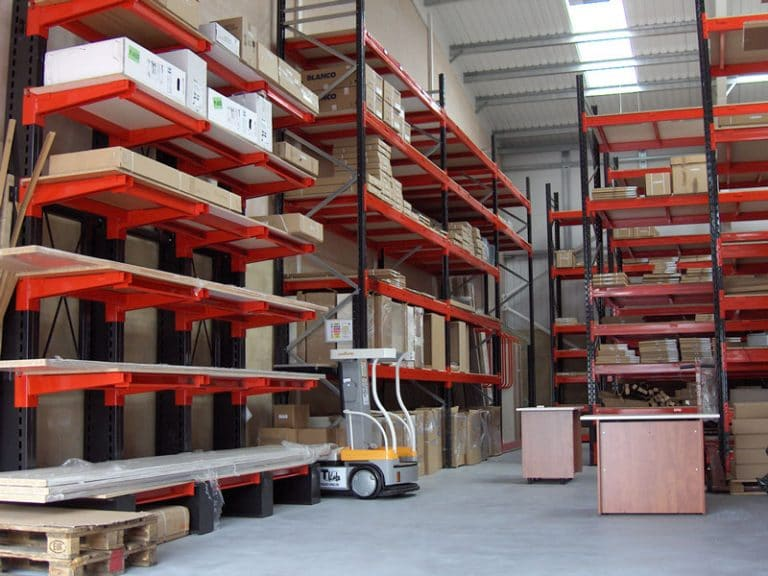 cantilever racking crown