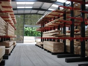 sydenhams warehouse cantilever racking