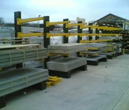 Concrete Lintel Building Product Racking