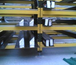 Steel Lintels stored on Stakrak SR2000 Series Pallet Racking