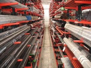 Stainless Steel Storage Racking
