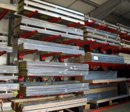 Stakapal Cantilever Racking for Worktops and MFC storage