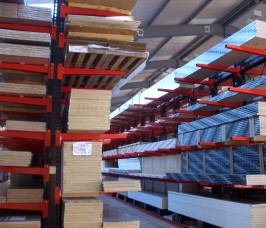 Cantilever Racking Warehouse Storage for Worktops and Laminates