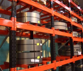 Steel Coil and Plate Storage Racking