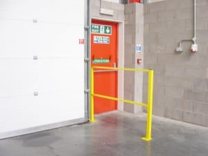 Stakapal's Pedestrian Barriers, Racking Barriers and Bollards give protection from mechanical machinery