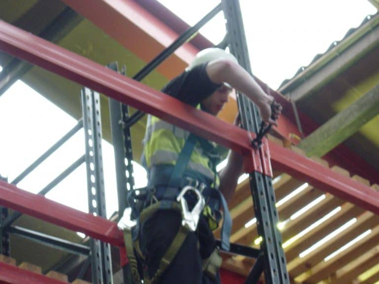 installing cantilever racking