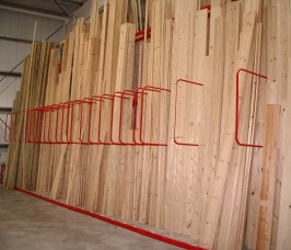 Stakrak SR3000 Series Vertical Storage Racking / A - Frame Racks for Softwood handoading and selection