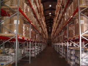 Narrow Aisle Pallet Racking means that Pallets can be stored to greater heights maximising cubic space