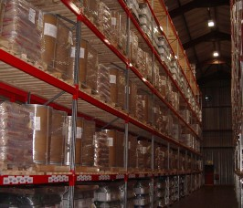 The Distribution and Logistics Trade commonly utilise Narrow Aisle Pallet Racking