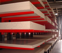 Stakapal Cantilever Racking ensures improved stock rotation levels which in turn reduces costs