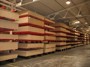 Jumbo Panel Cantilever Racking for MFC / MDF and Chipboard