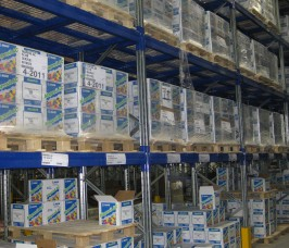 Adjustable Pallet Racking in Single Sided or Double Sided Runs for any Warehouse situation