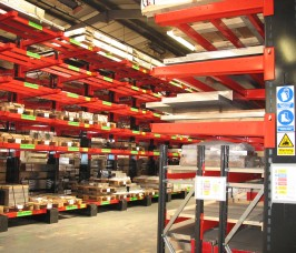 Heavy Duty Cantilever Racking