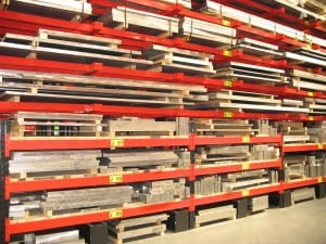 Cantilever Racking for Metal Sheet and Plate Storage