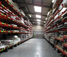 Aluminium Sheet and Plate Storage Racks