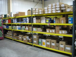 Stakrak SR500 Series Widespan / Longspan Shelving is an extremely flexible storage solution for handloaded products