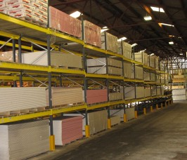 Pallet Racking offers a low budget Storage alternative for Panel Products