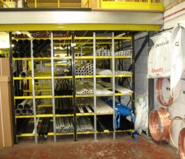 Copper Pipe Racking Storage Solutions Stakapal Limited Uk
