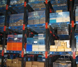 Stakapal Drive - In Pallet Racking for cold, chill and bulk storage food products