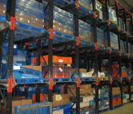 Stakrak SR2000 Series Drive-In Pallet Racking for seasonal goods storage