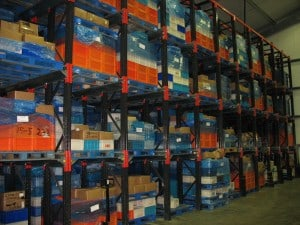 Drive - In Pallet Racking for Food Cold Chill Storage