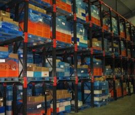 Warehouses with a Low Stock Rotation for Seasonal Goods or fluctuating Stock demand means Drive - In Pallet Racking is the perfect Storage Solution