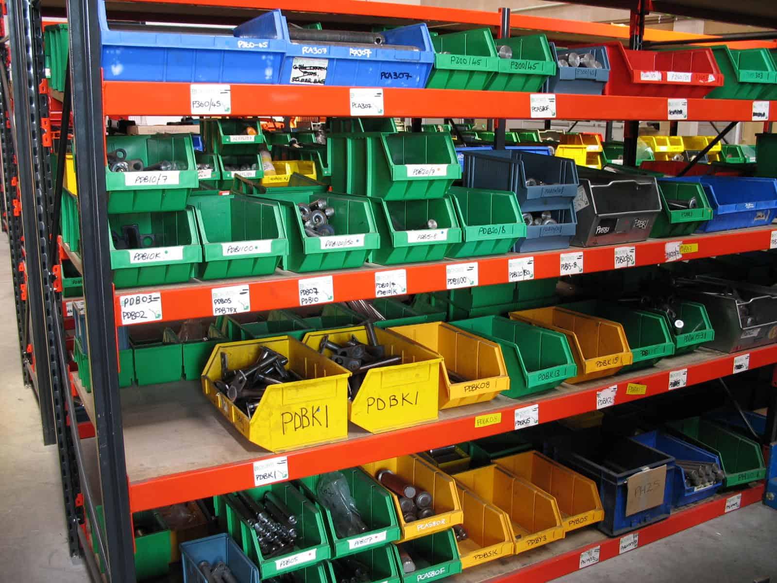 widespan shelving dividers