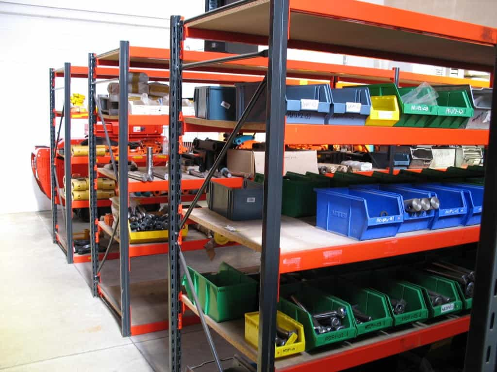 Widespan / Longspan Shelving offers the flexibility to store a variety of handloaded items