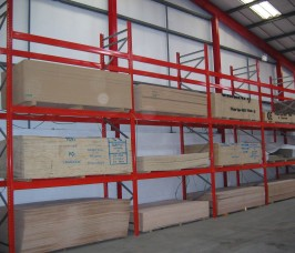 Pallet Racking is ideal for the storage and selectivity of Panel Products