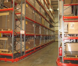 Narrow Aisle Racking is essentially constructed from the same basic components as Conventional Pallet Racking