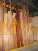 A - Frame Storage Racking is ideal for the storage and selectivity of Softwoods and Hardwoods