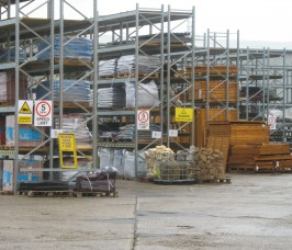 Pallet Racking for Building and Fencing Products