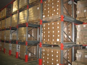 Cheese maturing warehouse with Drive - In Pallet Racking