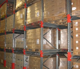 Predominantly used for Seasonal Food Products Drive - In Racks offer high density storage capacity