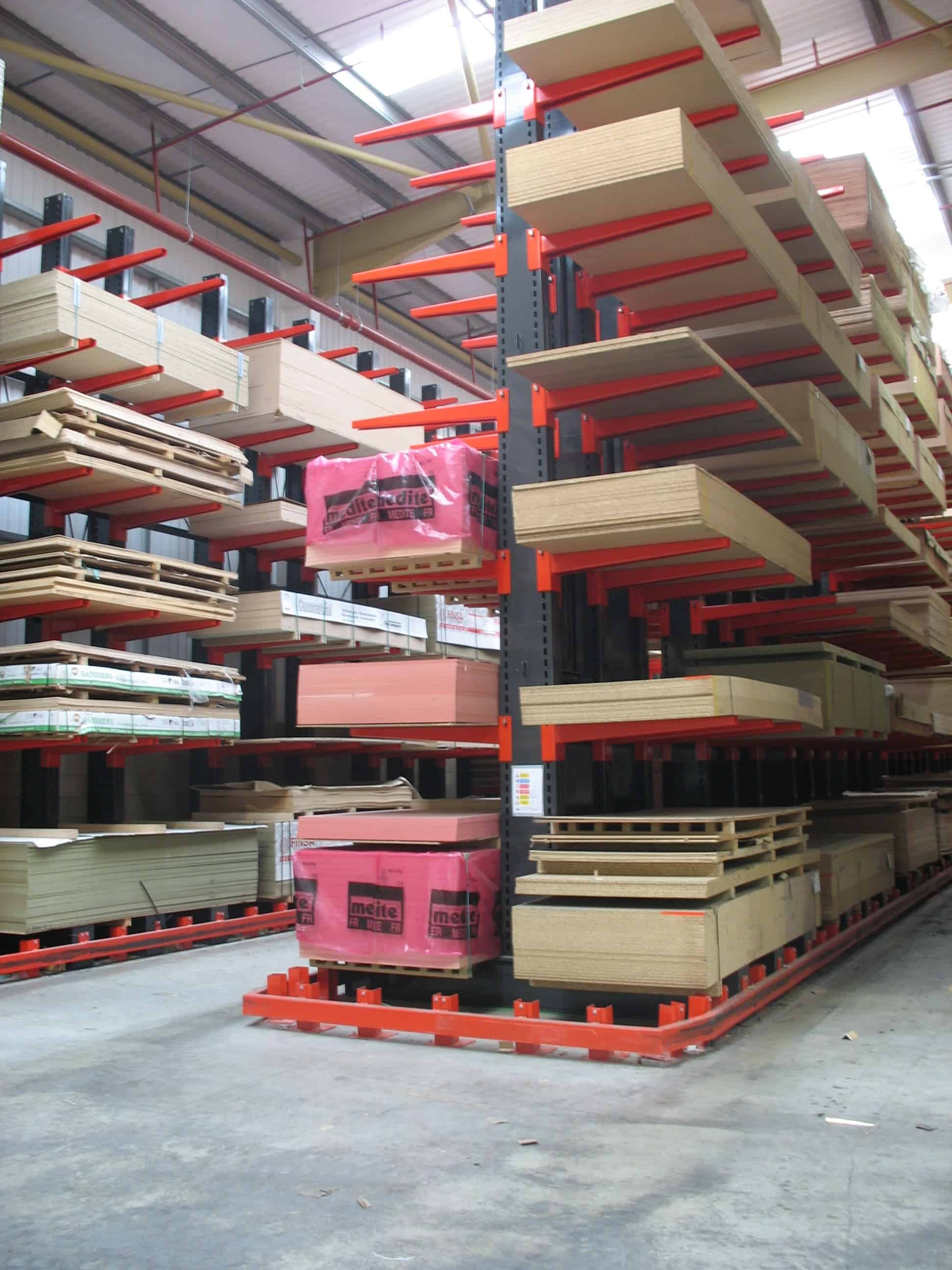 Guided Aisle Cantilever Racking Stakapal Limited Uk