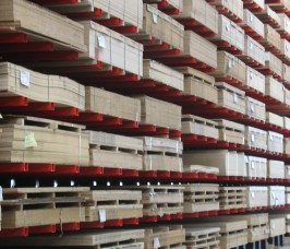 Stakapal Cantilever Racking for Sheet Materials storage and selection