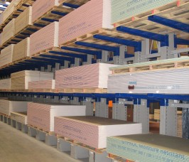 Cantilever Racking for Panel Products Storage