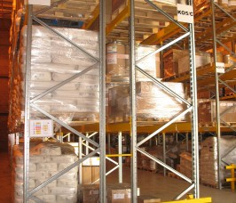 Conventional Pallet Racking offers a flexible option for Food Production storage