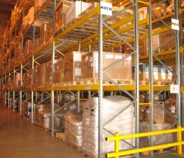 Double sided adjustable Pallet Racking for Distribution Warehousing