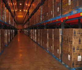 Typical Food Warehousing and Distribution Pallet Racking Storage