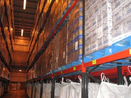 Stakrak SR2000 Series Pallet Racking offers flexible storage solutions for the food production sector