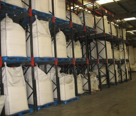 Stakapal Pallet Racking is commonly utilised by Food Distribution Warehouses