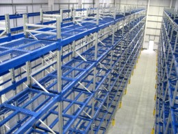 Pallet Racking is strong and durable and specifically designed for the storage of all palletised products