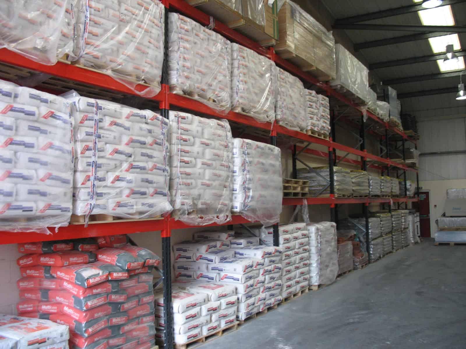 Building Materials Pallet Racks