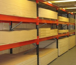Stakrak SR200 Series Pallet Racking storing Panel Products