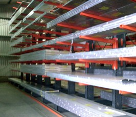 Warehousing Racking for Worktop storage for the Kitchen Bedroom and Bathroom sector