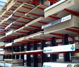 Standard 8ft / 10 ft Sheet Material Cantilever Rack