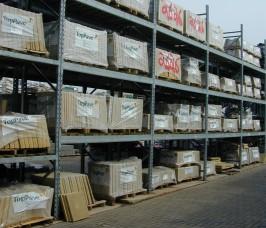 External Galvanised Pallet Racking for Decorative Slab Storage