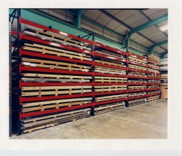 Pallet Racking for low volume Aluminium Sheet and Plate Storage