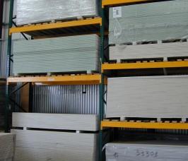 Stakrak SR2000 Series Adjustable Pallet Racking Storing a range of Plasterboard Products